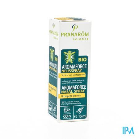 Aromaforce Spray Nasal Huile Essentielle 15 ml