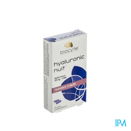 Biocyte Hyaluronic Nacht 30 capsules