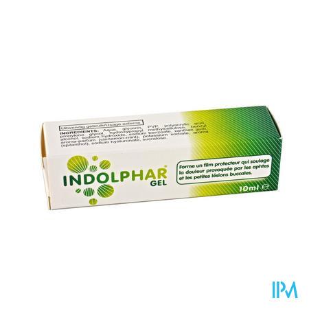 Indolphar Gel Tube 10 ml  -  I.D. Phar