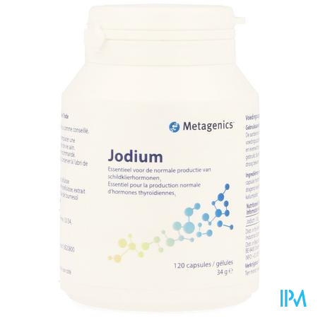 Jodium Caps 120 25670 Metagenics