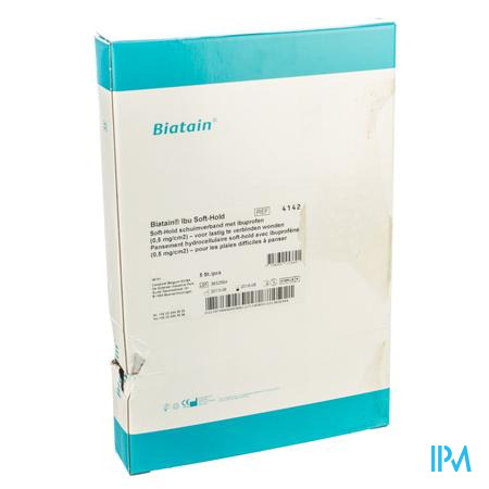 Biatain-ibu Verb Softhold+ibuprof.10x20,0 5 34142
