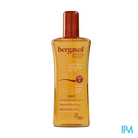 Bergasol Droge Olie SPF 6 125 ml spray