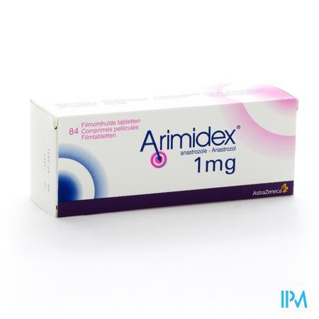 Arimidex 1mg Filmomh Tabl 84