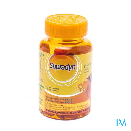 Supradyn Energy Vitamin Gummies  70