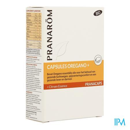 Pranacaps Oregano+ Caps 30 Pranarom