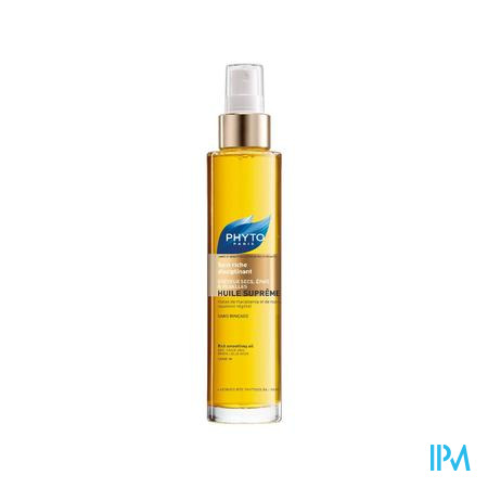 Phyto Huile Suprême Soin Riche Disciplinant Cheveux Secs 100 ml spray