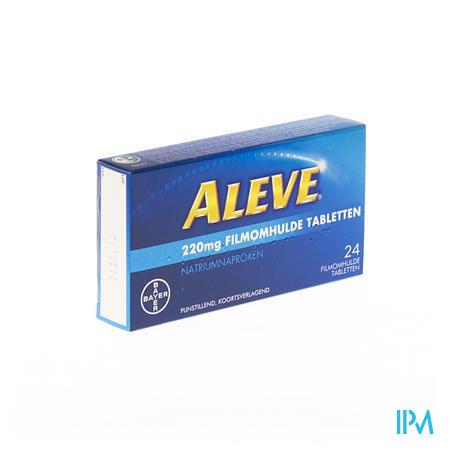 Aleve 220mg 24 tabletten