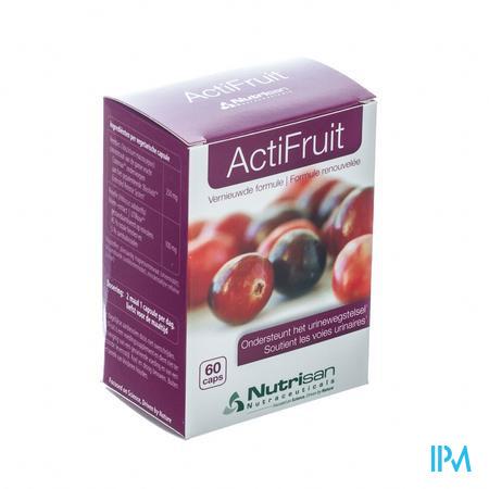 Nutrisan Actifruit 60 capsules
