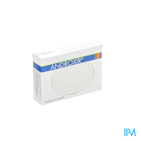 Androxir Anti-Aging Supplementen Man 30 tabletten