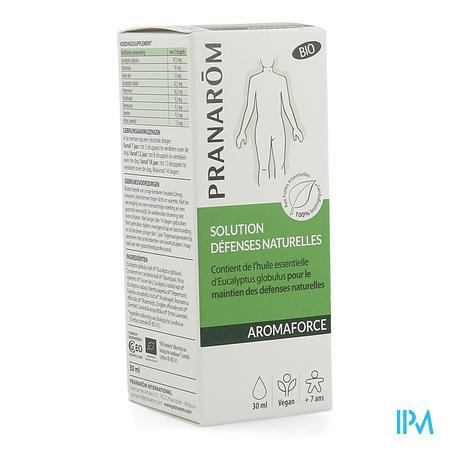 Pranarom Aromaforce Opl. Natuurl.weerstand Bio30ml