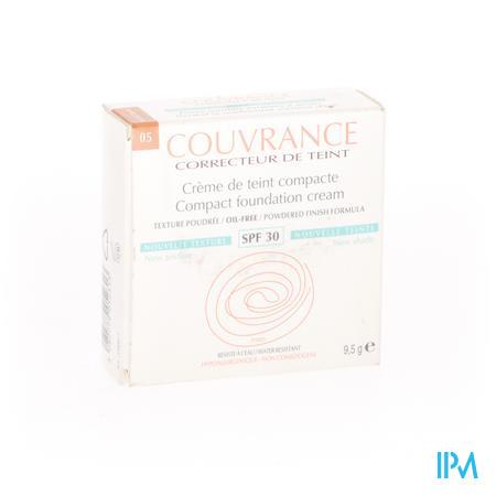 Avène Couvrance Getinte Compact Crème Oil-Free Soleil SPF30 9.5 g