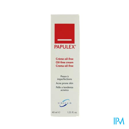 Papulex Oil-free Creme 40 ml