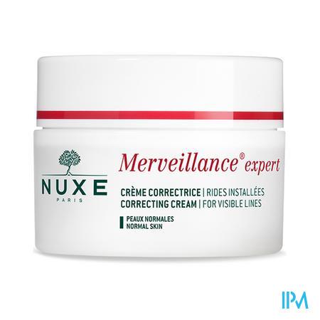 Afbeelding Nuxe Merveillance Expert Enrichie Corrigerende Rijke Crème voor Gevestigde Rimpels voor Droge tot Zeer Droge Huid Pot 50 ml.