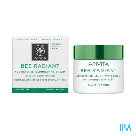 Apivita Bee Radiant Creme A/age Lichte Text. 50ml