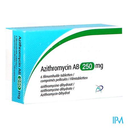 Azithromycin Ab 250mg Filmomh Tabl 6 X 250mg