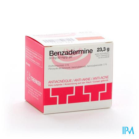 Benzadermine 30mg/50mg Gel Pot 23,3g
