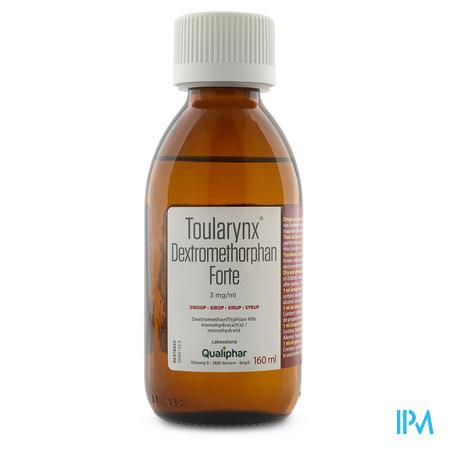 TOULARYNX DEXTROMETHORPHAN FORTE 3MG/ML 160 ML SIROP (médicament)