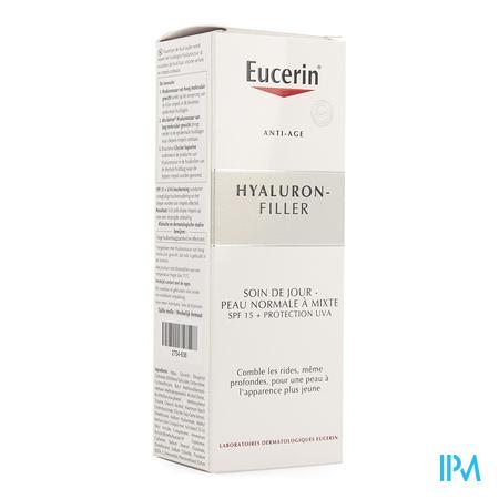 Eucerin Hyaluron Filler Creme Jour Pn-p Mixte 50 ml  -  Beiersdorf