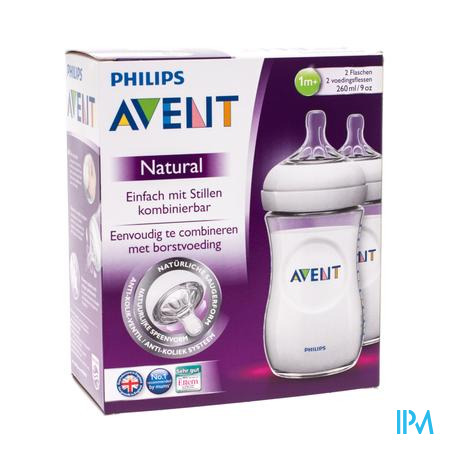 Farmawebshop - AVENT ZUIGFLES 260ml DUO