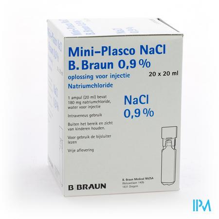 Mini Plasco Nacl 0,9 % Ampullen 20x20 ml