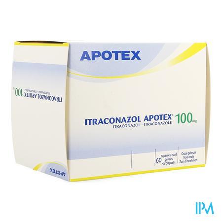 Itraconazol Ab 100mg Harde Caps 60 X 100mg