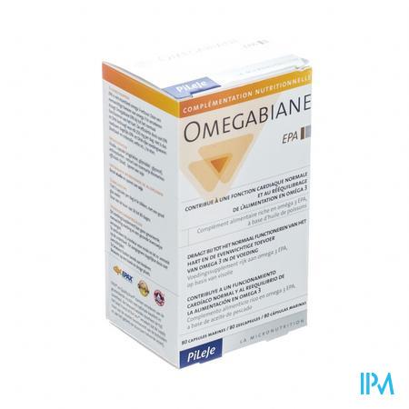 Omegabiane Epa Capsule 80  -  Pileje