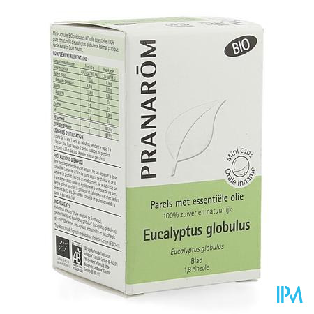 Parels Eucalyptus Globulus Ess Olie Fl 60 Pranarom