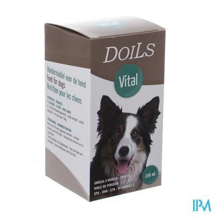 Doils Vital Hond Kat Olie 236ml