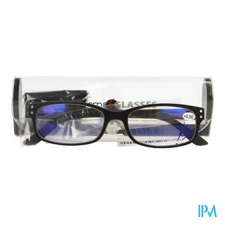 Pharmaglasses Visionblue Pc01 Leesbril +0.00 Black