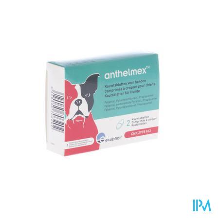 Anthelmex Kauwtabl. Hond 2