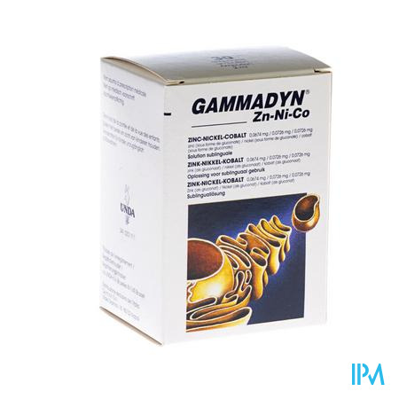 Gammadyn Ampullen 30 X 2 ml Zn-ni-co Unda