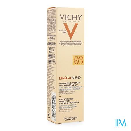 Vichy Mineralblend Fdt Gypsum 03 30ml