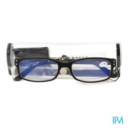 Pharmaglasses Visionblue Pc01 Leesbril +1.00 Black