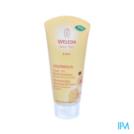 Weleda Bébé Shampooing Cheveux et Corps au Calendula 200 ml