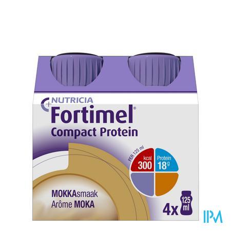 Fortimel Compact Protein Mokka 4x125 ml  -  Nutricia