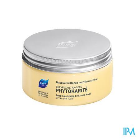 Phyto Phytokarité Masque Brillance Nutrition Extrême Cheveux Ultra Secs 200 ml