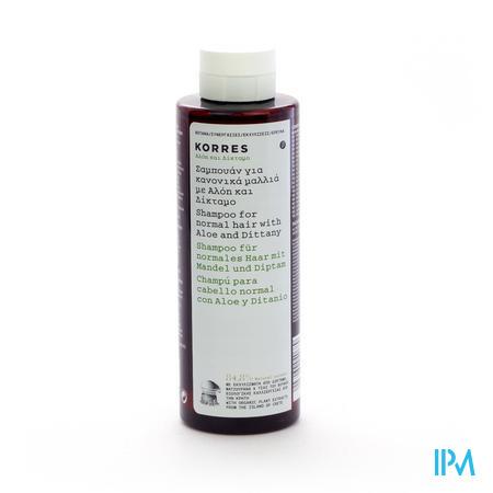 Korres Kh Shampoo Aloe&ditanny 250ml