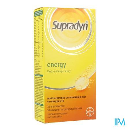 SUPRADYN ENERGY COMP EFFERV. 30 (complément alimentaire)
