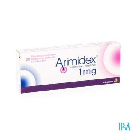 Arimidex 1mg Filmomh Tabl 28
