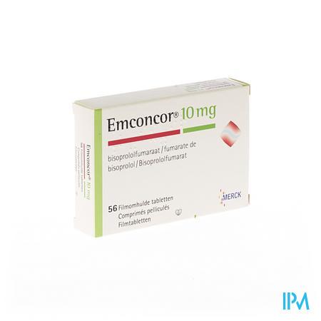 Emconcor 10 Dragee 56x10 mg