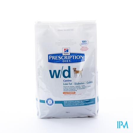 Hills Prescrip.diet Canine Wd 4kg 6658r