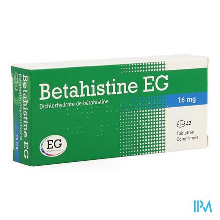 Betahistine Eg Comp 42 X 16mg