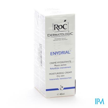 Roc Dermatologic Enydrial Emol Gezicht 2 x 40 ml