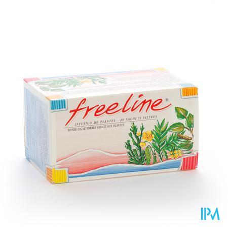 Freeline Sach Filt Thee 20 X 2g
