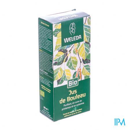 Weleda Jus de Bouleau sans sucre 200 ml