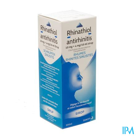 Rhinathiol Antirhinitis Sirop 200 ml