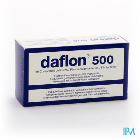 Daflon 500 60 tabletten