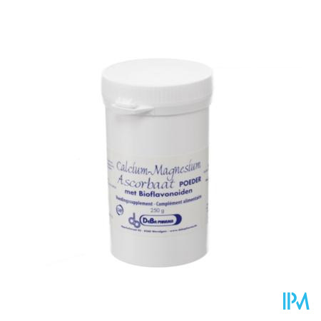 Ca mg Ascorbate + bioflavon. 250 gr  -  Deba Pharma