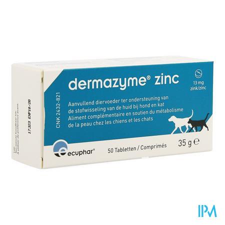 Dermazyme Zink Hond Comp 50