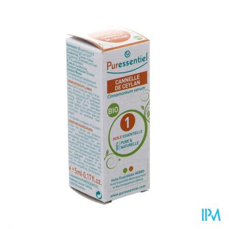 Puressentiel Expert Cannelle Ceylon Bio Huile Essentielle 5 ml